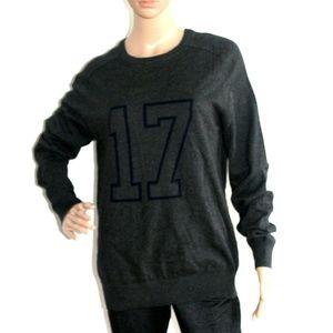 NWOT Joe Fresh Crew Neck Grey Pullover SZ-M
